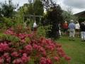 Trädgårdsbesök i Nällevad den 12 juli
